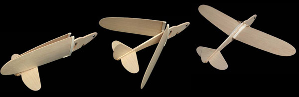 Folding Wing Parts available to make your on folding wing glider
