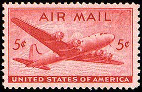 American Junior Classics Air Mail from Bob Veazey - 1941 air mail stamp