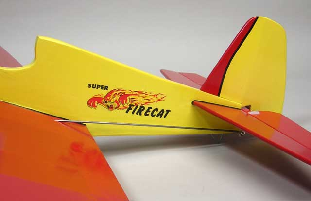 Super Firecat U-Control by Jim Walker's American Junior Aircraft