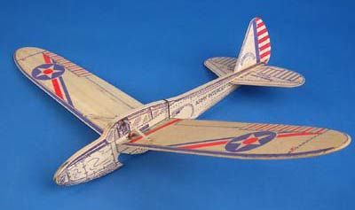 History of the American Junior Interceptor a folding wing glider by