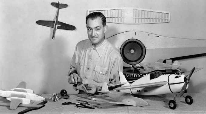 Jim Walker of American Junior Aircraft was an innovator in early control Line model aviation as well as many inventions and patents in and out of the model aviation hobby