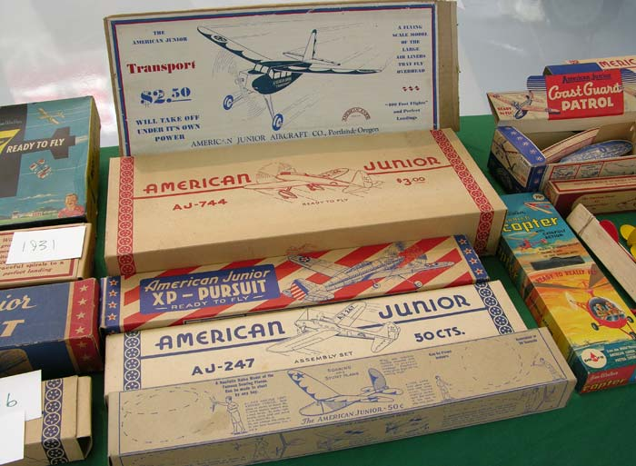 Early American Junior Aircraft Company model airplanes
