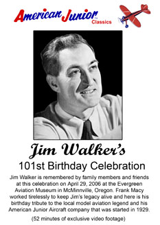 Jim 101st Birthday Celebration on DVD