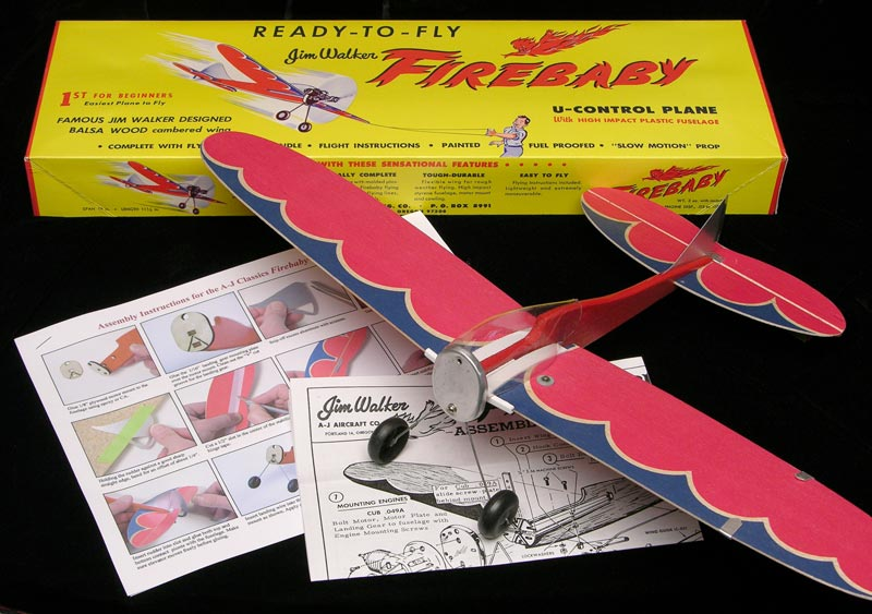 Firebaby II is a reproduction of the famous Jim Walker model from the 1950's