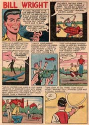 Flying Models Comic book from 1954 - Page 8