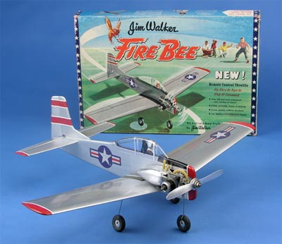 "Bob Smurthwaite's ""FIREBEE"" kit he designed and built for Jim Walker and American Junior Aircraft"