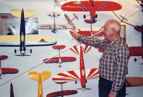 American Junior display at the Model Aviation Museum