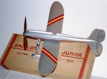 American Junior model 744 model airplane